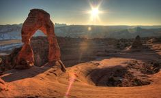 Arches National Park will make you feel as if you took off for another planet. Yet it's all part of Utah's amazing array of national parks. (From: 15 Most Beautiful National Parks in America)
