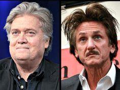 Sean Penn on His Former Producer Steve Bannon: a 'Conniving Hateful Bloated Punk' - Breitbart