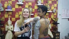 #bangkok ink tattoo school thailand#done by Maija#