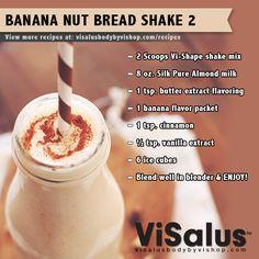 Banana Nut Bread Shake 2! #visalus #bodybyvi #shake