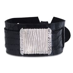 An edgy statement-making cuff!  http://silverelementscollection.com/collection/universe-bracelet