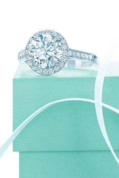 Tiffany Embrace diamond engagement ring.    For more great engagement Rings see: http://www.engagement-rings-specialists.com #engagement #Rings