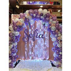 Balloon arch wow