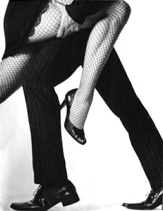 Ah, tango. Where else can a woman wear fish-net stockings and not be considered a slut.