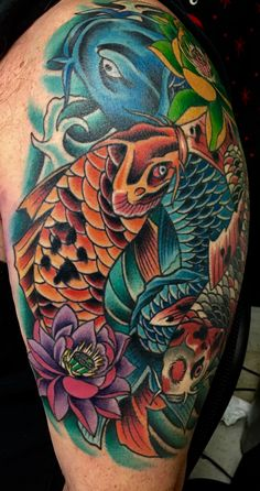 #Koitattoo #koi #tattoo