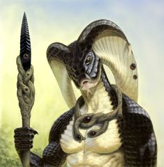 Cobra Warrior by Darko Kreculj TestosteronMan
