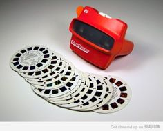 childhood memories. Viewmasters were so awesome.