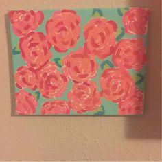 A personal favorite from my Etsy shop https://www.etsy.com/listing/245551985/lilly-inspired-canvas