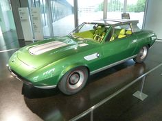 "BMW 2800 Bertone ""Spicup"" show car from the Geneva Motor Show (1969) @ BMW museum"