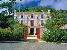 St. Nicholas Abbey in St Peter, Barbados. The sugar plantation was built in 1650-1660. It is one of three Jacobean houses in the Western Hemisphere.