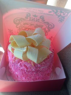 The perfect indulgence for your stay at the Madonna Inn - four layers of cake filled with cream, iced with whipped cream and garnished with white chocolate shavings and even more cream. Pink Champagne Cake, California Destinations, Our Wedding, Wedding Ideas, Chocolate Shavings, Pictures To Draw, Let Them Eat Cake, Whipped Cream, White Chocolate