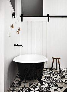 my scandinavian home black and white bathroom - Wohneinrichtung Bad Inspiration, Decoration Inspiration, Bathroom Inspiration, Bathroom Ideas, Design Bathroom, Bathroom Trends, Tile Design, Bathroom Interior, Houzz Bathroom
