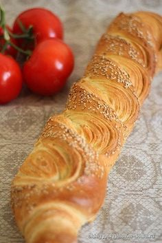 """Французский багет """"Tourbillon"""" Baguette Bread, French Baguette, Bread Shaping, Puff Pastry Recipes, Bread Bun, Bread And Pastries, Russian Recipes, Artisan Bread, Cooking Recipes"""
