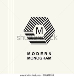 Find Modern Monogram Emblem Logo Hexagon Cube stock images in HD and millions of other royalty-free stock photos, illustrations and vectors in the Shutterstock collection. Branding Design, Logo Design, Graphic Design, Hexagon Logo, Portfolio Book, Logo Google, Illustration, Web Design, Lettering