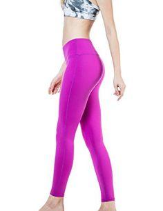 Tesla Women's Yoga Pants Leggings w Hidden Pocket YP06-PPL_Small - http://www.exercisejoy.com/tesla-womens-yoga-pants-leggings-w-hidden-pocket-yp06-ppl_small/athletic-clothing/