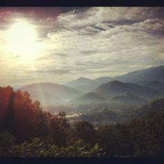 Morning view - Gatlinburg