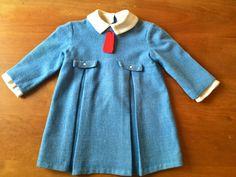 Vintage French Madeline Style Dress (toddler)