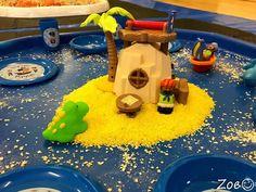 Pirates Small World Play Island - Role Play Sensory Play - Tuff Tray Ideas Early Years – Tuff Spot / Nursery / Primary