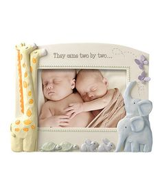 Love this 'They Came Two By Two' Frame on #zulily! #zulilyfinds