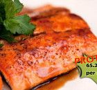 Seared Salmon with Sweet Glaze Recipe