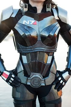 Mass Effect 3 N7 Armor build