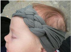 tuto bandeau bébé chouette et simple