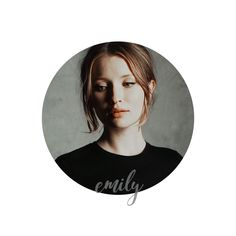 emily browning ; pinterest icon.