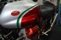 One of our clients bikes. I asked for his permission first, but such beauty needs to be shared.