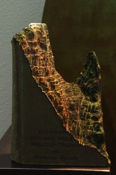 Extraordinary New Book Carvings of Mountains and Caves by Guy Laramee - My Modern Metropolis