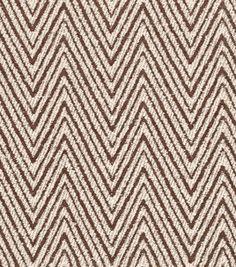 Home Decor Fabric-Annie Selke Indra Chocolate