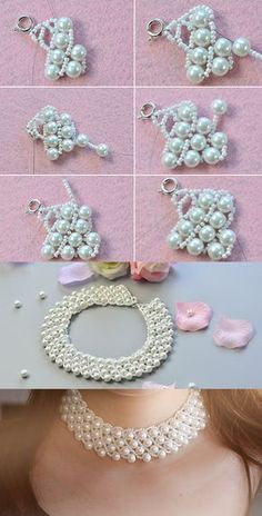 pearl bib necklace, like it? LC.Pandahall.com has shared us the tutorial.