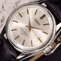 Authentic Seiko Lord Marvel 36000 Ref.5740-8000 Silver Dial Manual Mens Watch