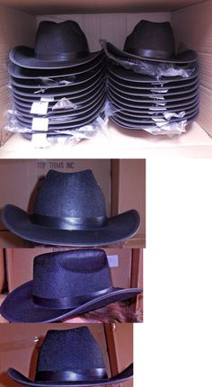 c8651f64ab9ad Dance Accessories 152358  New Box 2 Dozen Dance Costume Black Felt Cowboy  Hats Med Or Lge Size Adult -  BUY IT NOW ONLY   63.99 on eBay!
