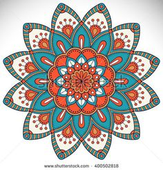 Find Flower Mandalas Vintage Decorative Elements Oriental stock images in HD and millions of other royalty-free stock photos, illustrations and vectors in the Shutterstock collection. Mandala Doodle, Mandala Art, Mandala Drawing, Doodle Doodle, Mandala Design, Doodle Patterns, Doodle Borders, Mandala Coloring Pages, Oriental Pattern