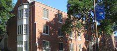 Aitchison Hall is one of three freshman residence halls. It is located on the north end of campus adjacent to Peters Commons. Aitchison Hall has two female floors and two male floors. A common lounge area separates the floors.
