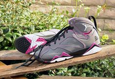 """The Air Jordan 7 GS """"Valentines Day"""" drops tomorrow. Are you ready for it?"""