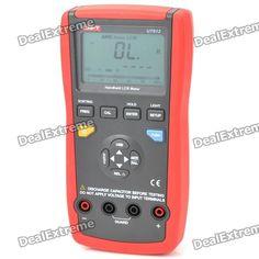 "UNI-T UT612 2.8"" LCD Handheld Digital LCR Meter - Red + Grey (1 x 9V)"