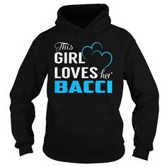 This Girl Loves Her BACCI - Last Name, Surname T-Shirt