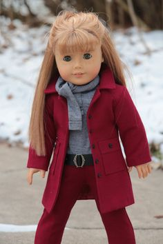 American Girl Doll Clothes Pattern. Noodle by NoodleClothing