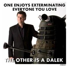 Stephen Moffat and Dalek