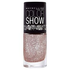 Cosmetics UK - Maybelline Color Show Crystal 232 Rose Chic Nail Polish 7ml