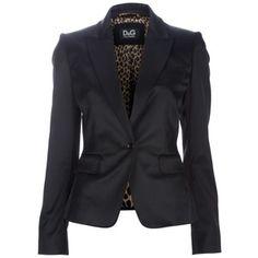 D single button blazer - Polyvore