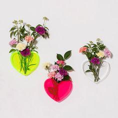 Lovestar neon vases