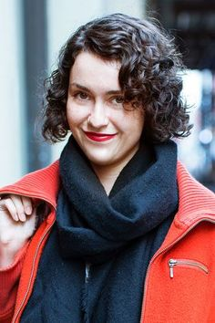 """13 Women Spill Their Curly-Hair Secrets #refinery29  http://www.refinery29.com/57897#slide-1  Rachel Rector, 25, lingerie designer What do you love about your curly hair? Anything you don't love?  """"I love that it basically styles itself. But, I can't always count on the style to look the same every day. Since it's short, sometimes I feel like it makes me look really ..."""