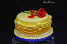 Belle cake by K Noelle cakes