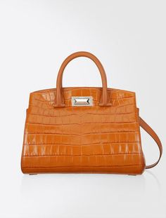 New Hollywood Bag in pelle stampata