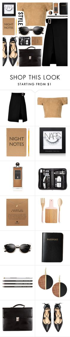 """""""Best Trend of 2016"""" by jiabao-krohn ❤ liked on Polyvore featuring storets, Alice + Olivia, Marby & Elm, NARS Cosmetics, Serge Lutens, Royce Leather, Dogeared, Vera Bradley, Michael Kors and Mont Blanc"""