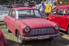 1964 Ford Taunus 12M 2-Door-Coupe 1498cc V4 Water-Cooled engine (photo by Stein Olson)