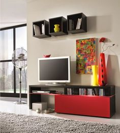 Decorating A Living Room With Modern Wall Units