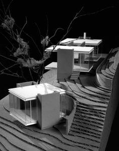 Tea Houses / Swatt | Miers Architects  Scale Model